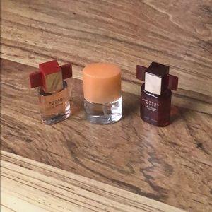 x3 Mini Fragrances; Clinique & Estée Lauder